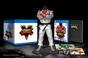 Street Fighter V Collector's Edition and Pre-Order Bonuses are Revealed