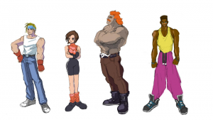 Early Concept Art for Cancelled Streets of Rage 4 from the Sega Dreamcast is Found