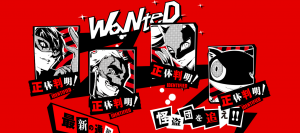 Here's the First Look at Persona 5's Four Main Characters