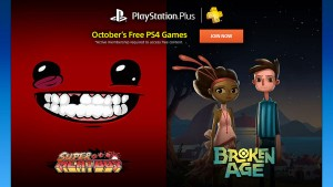 Super Meat Boy, Broken Age, and More Free in October 2015 for PlayStation Plus