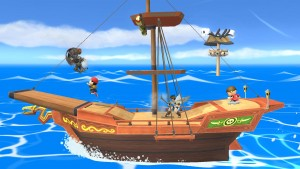 Super Mario Maker and Pirate Ship Stages Out Now for Super Smash Bros