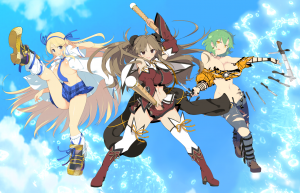 Hikage, Katsuragi and Renka Featured on the Dakimakura for Senran Kagura: Estival Versus