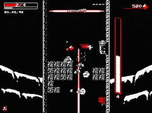 Gorgeous Downward-Spiraling Shooter Downwell Gets New 60FPS Gameplay