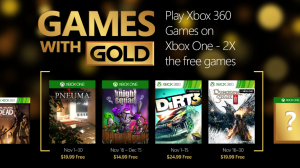 November 2015 Games With Gold Includes Dungeon Siege III, Knight Squad, More
