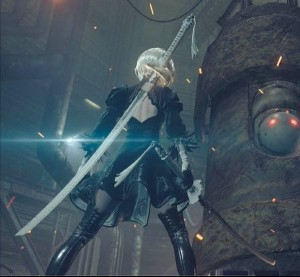 Here's the First Gameplay for NieR: Automata