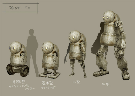 nier machine heads