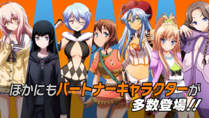 Latest Nitroplus Blasters Trailer Shows More Girl Action