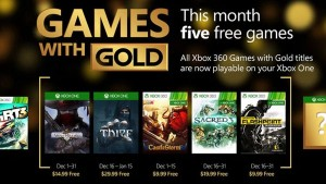Thief, Sacred 3, More Free in December 2015 Games with Gold