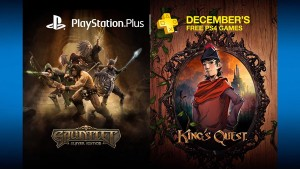 Gauntlet, King's Quest, Freedom Wars, More Free in December 2015 with PlayStation Plus