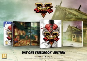 Street Fighter V is Getting a Day One Steelbook Edition