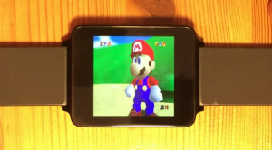 Super Mario 64 and The Legend of Zelda: Ocarina of Time Playable on a Watch