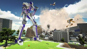 100ft Robot Golf is Announced for PlayStation 4 and PlayStation VR