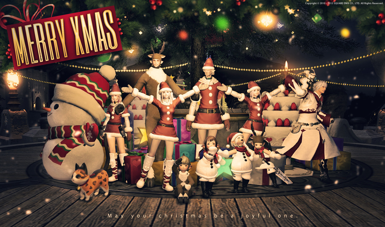 Final Fantasy XIV Gets Festive With New Holiday-Themed Optional ...