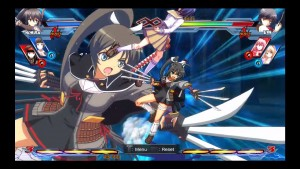 Watch Senran Kagura's Homura Moves in Nitroplus Blasterz: Heroines Infinite Duel