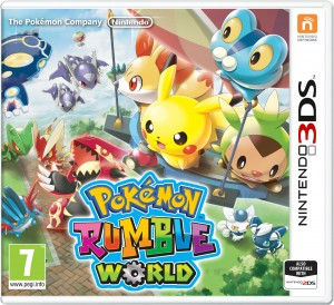 Pokemon Rumble World Coming to Retail in Europe on January 22, 2016