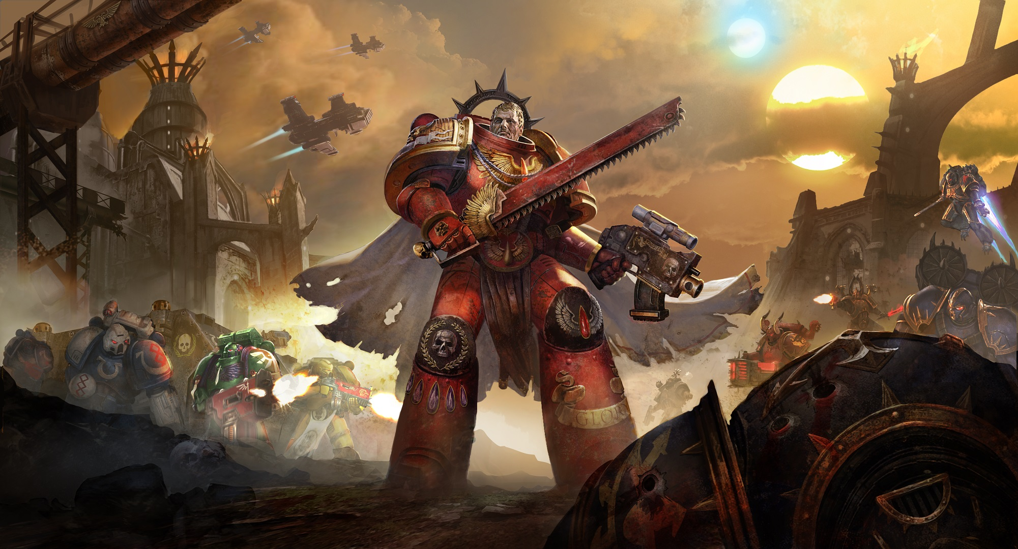 Warhammer 40,000: Eternal Crusade Heading to PlayStation 4, Xbox One, PC in Summer 2016