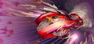 Neon-Drenched Arcade Shooter Hyperdrive Massacre Launching January 13 on Xbox One