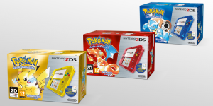 Classic Pokemon 3DS and 2DS Bundles Heading to North America and Europe