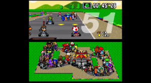 In New Video, Super Mario Kart Bursts At The Seams With 101 Players