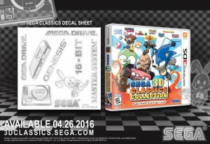 Sega 3D Classics Collection is Bundled With a Retro Decal Set