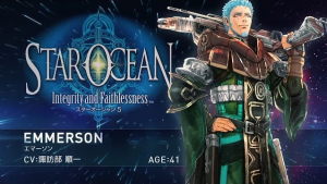 New Star Ocean 5 Trailer Focuses on the Alcoholic Womanizer, Emmerson