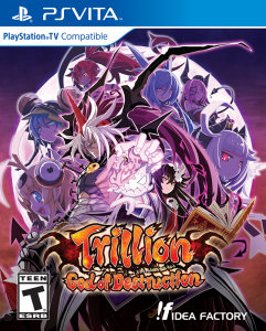 Trillion: God of Destruction Western Release Date Set, Box Art Revealed