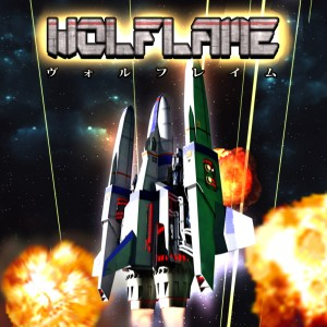 Vertical Japanese Shmup WOLFLAME Now on Steam Greenlight