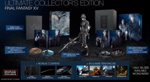 Final Fantasy Deluxe and Collector's Edtion Are Revealed