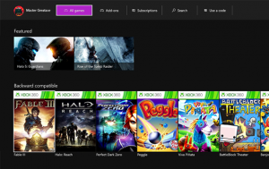 Xbox One March 2016 Update Brings Xbox 360 Games to Store, More