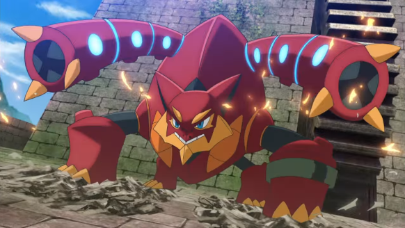 volcanion and the ingenious magearna