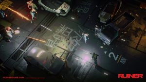 Paint The Cyberpunk Metropolis Red With New Isometric Shooter, Ruiner