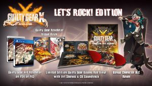 """Guilty Gear Xrd: Revelator """"Let's Rock"""" Edition Revealed, Comes With Vinyl Soundtrack"""