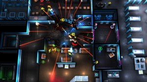 Top-Down Cyberpunk Shooter Neon Chrome Launching for PC on April 28