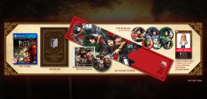 Attack on Titan PS4 Treasure Box Edition Announced for Europe, Comes With a Towel
