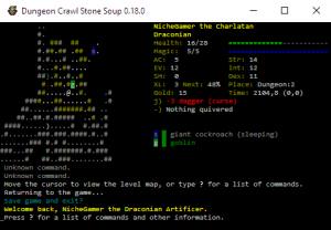 Dungeon Crawl Stone Soup Adds New God, Overhauls Monsters and Magic Items