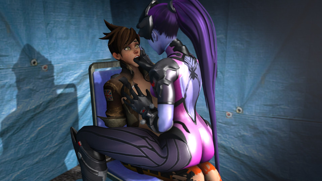 Tracer And Widowmaker Butt