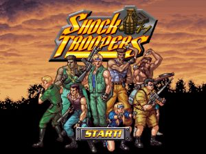 Classic SNK Neo-Geo Shooter Shock Troopers Now Available on Steam