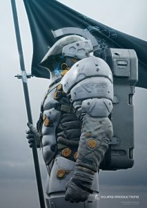Hideo Kojima Introduces LUDENS, Full Kojima Productions Logo