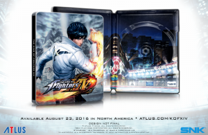 New King of Fighters XIV Trailer Introduces Team Japan, SteelBook Bonus Confirmed