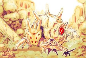 First Artwork for CyberConnect2's Nausicaa-like Action RPG, Venom