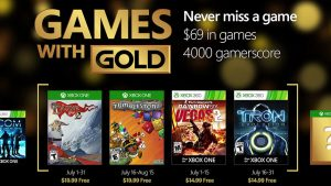 July 2016 Games With Gold Includes The Banner Saga 2, Tron: Evolution, More