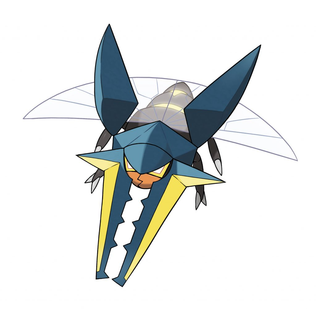 Zygarde, Vikavolt, More Detailed For Pokemon Sun And