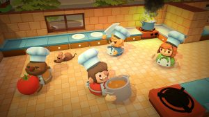 Crazy Cooperative Cooking Game Overcooked Launches for PC and Consoles August 3
