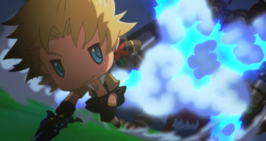 Opening Theme Song and Anime Cutscenes for World of Final Fantasy