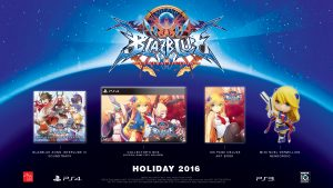 Limited Edition for BlazBlue: Central Fiction Announced