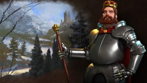 Frederick Barbarossa Leads the Germans in Civilization VI