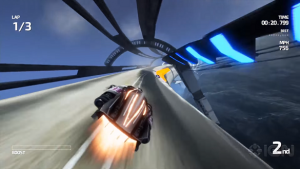 New Gameplay for Fast Racing NEO Showcases New DLC Tracks