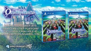 Mystery Chronicle: One Way Heroics Gets a Physical Release