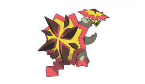 Fire / Dragon Pokemon Turtonator Revealed for Pokemon Sun and Pokemon Moon