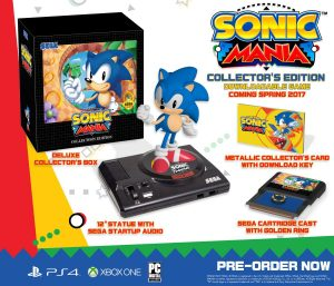 Sonic Mania Collector's Edition Revealed